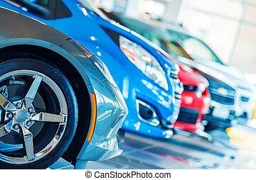 gloednieuw, auto's, te koop