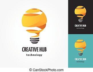 gloeilamp, -, idee, creatief, technologie beelden