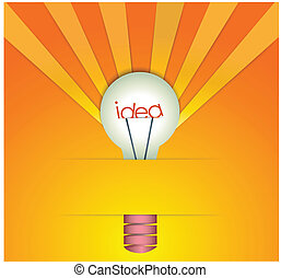 licht idee bol idea licht spotprent bol clipart vector zoek naar illustratie. Black Bedroom Furniture Sets. Home Design Ideas