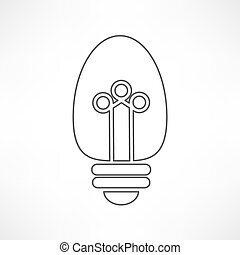 gloeilamp, pictogram