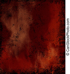 Gloomy vintage texture ideal for retro backgrounds. In dark red colors