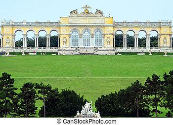 Gloriette Schonbrunn Palace - Vienna Austria