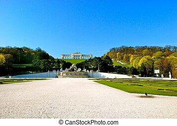 Gloriette, Schonbrunn park, Vienna