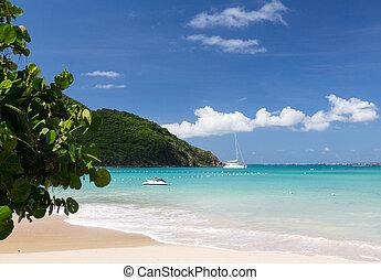 Glorious beach at Anse Marcel on St Martin - Anse Marcel...