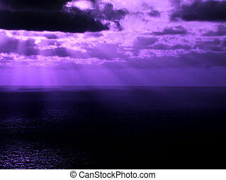 Glorious Med - Purple clouds