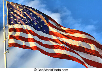 The AMerican Flag of the USA