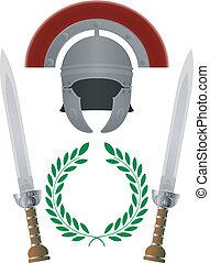 glory., romein, variant, derde