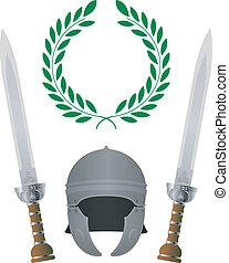 glory., romein, variant, vierde