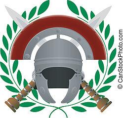 glory., romersk, variant, femte