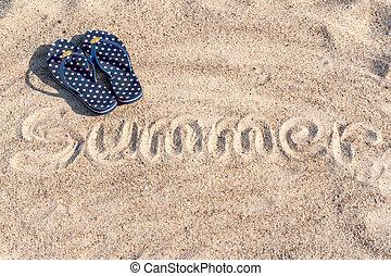 glose, flipflops, sommer