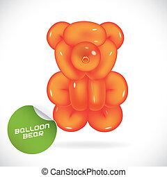 Glossy Bear Illustration