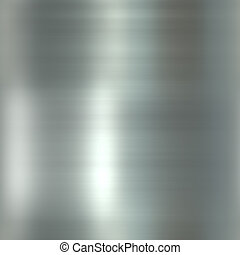 Glossy brushed metal - Brushed smooth glossy metal surface ...