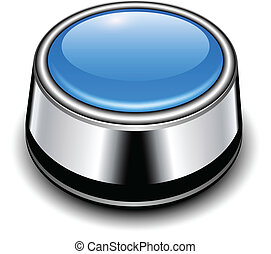 Glossy button