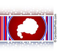 Glossy cloud web button icon