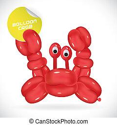 Glossy Crab Illustration