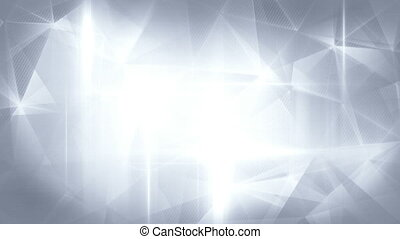 glossy grey abstract background seamless loop