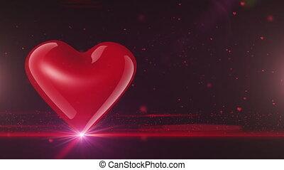 Glossy heart (HD1080).