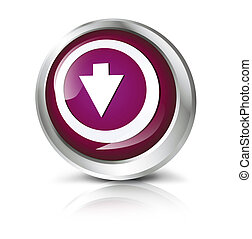 button with download symbol.