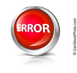 button with error symbol.