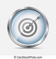 Glossy Icon Vector Illustration
