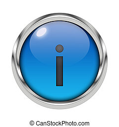 Glossy information icon