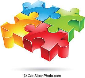 Glossy Jigsaw Puzzle