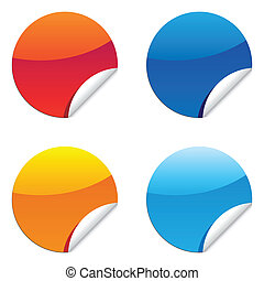 glossy label sticker for sale price tags - a set of glossy ...