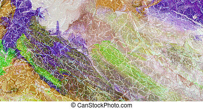 glossy multicolor marble background texture with veins