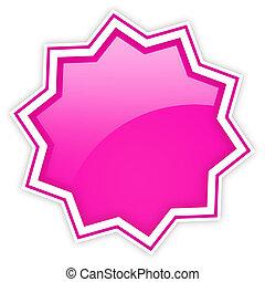 Glossy star icon