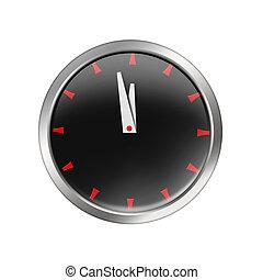 glossy style clock