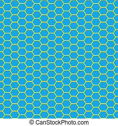 glossy wire pattern