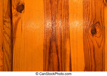 glossy wooden material