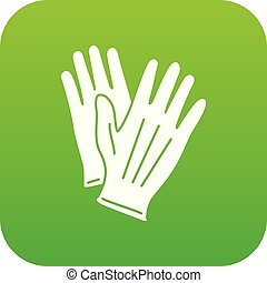 Glove icon, simple style - Glove icon. Simple illustration...
