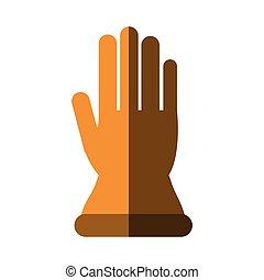 Glove of industrial security design
