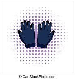 Gloves comics icon