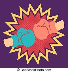 gloves for boxing