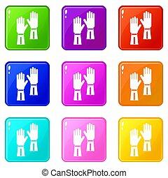 Gloves set 9