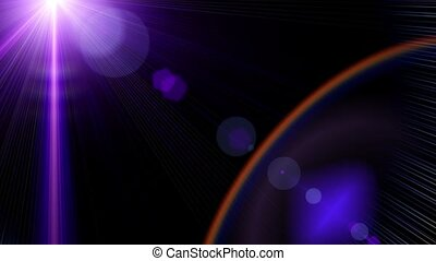 Glow art halo. Color fashion stars space universe ray. Abstract stage light.