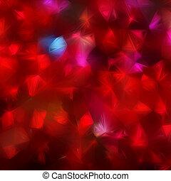 Glow multicolor mosaic background. EPS 8