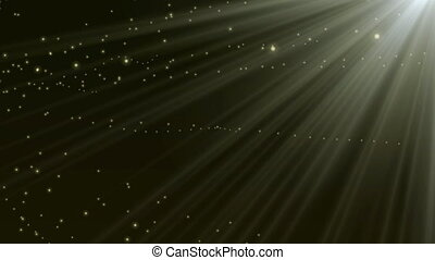 Glow particles_rays