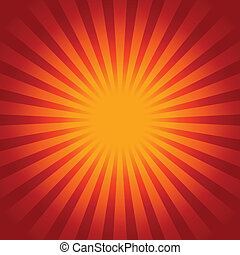 Sunburst background - Glow Sunburst background
