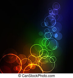 glowing abstract background, eps10 format