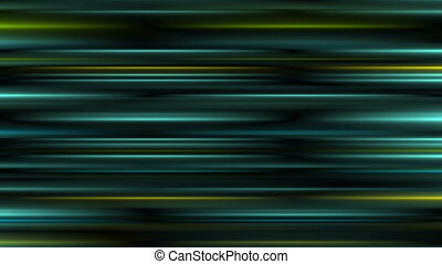 Glowing abstract dark turquoise stripes video animation