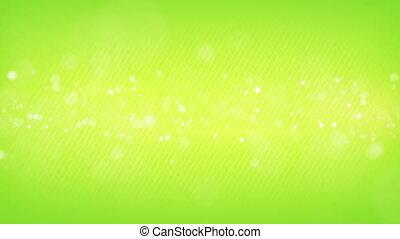 glowing bokeh circles green loop background shallow DOF