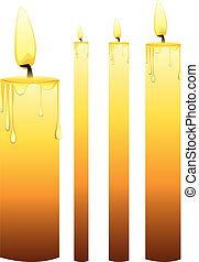 Glowing Candles Set