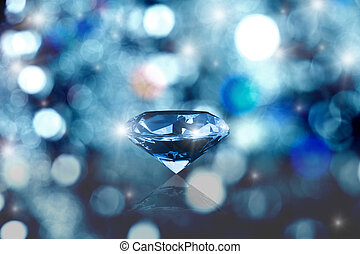 Glowing diamond