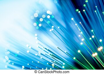 Glowing Fiber Channels - Glowing Fiber Optic Channels...