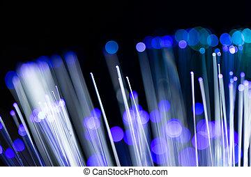 Glowing Fiber Optic