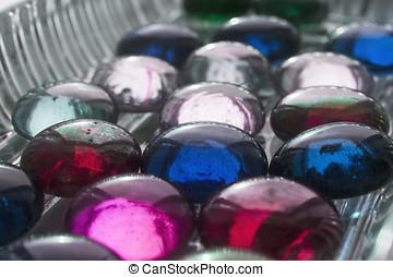glowing gems