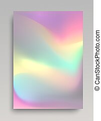 Glowing hologram background with realistic glowing for...